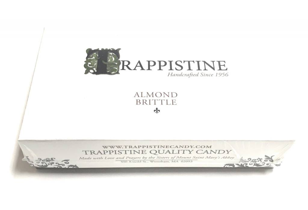 Trappistine Quality Candy Almond Brittle Trappistine Christmas Candy 8oz