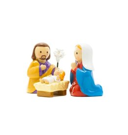 Little Drops of Water Little Drops of Water: The Nativity Jesus Mary and St. Joseph Statue