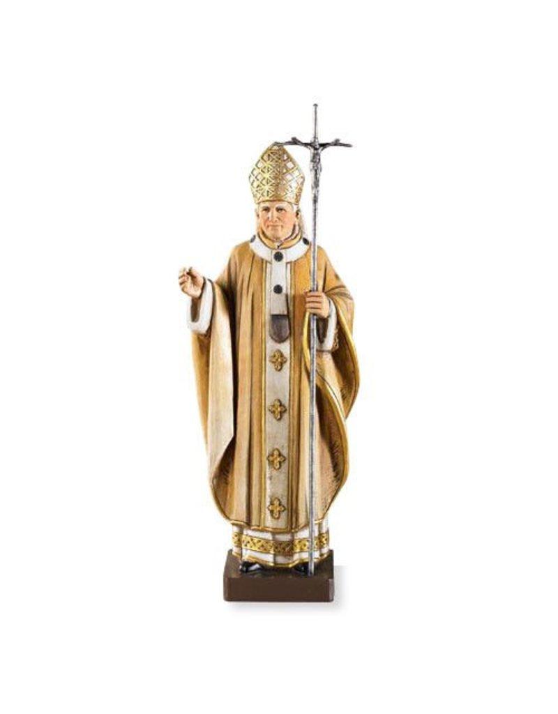 "Avalon Gallery 9"" St. John Paul II Resin Statue"