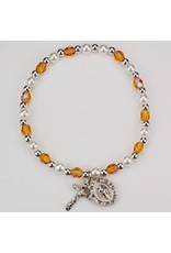 McVan Youth Birthstone Stretch Bracelet