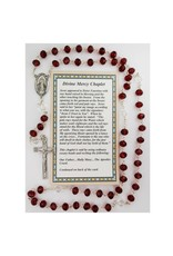 McVan Divine Mercy Chaplet Beads with Card