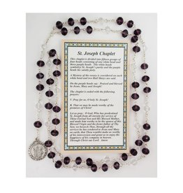 McVan St. Joseph Chaplet with Card