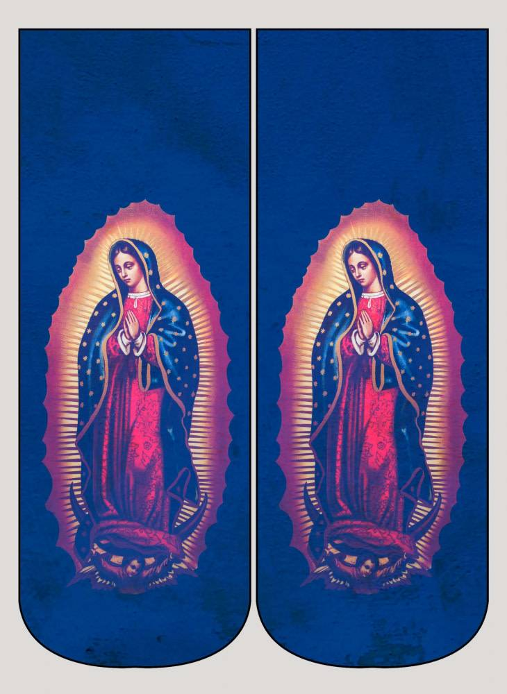 Living Royal Our Lady of Guadalupe Ankle Sock