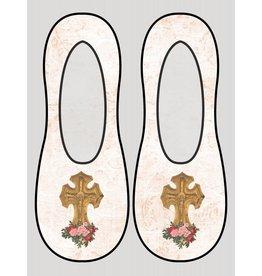 Living Royal Crucifix Liner Socks