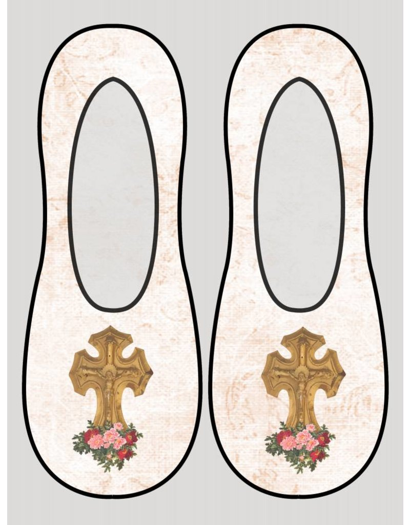 Living Royal Crucifix Liner Socks