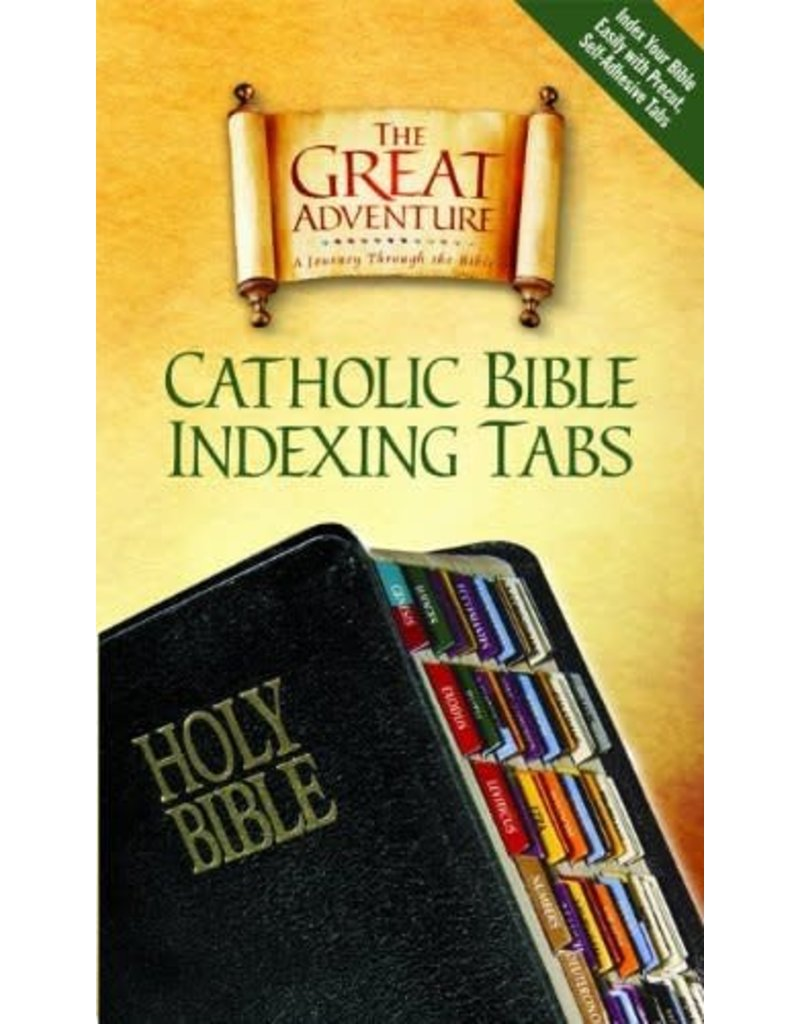Ascension Press The Great Adventure: Bible Indexing Tabs