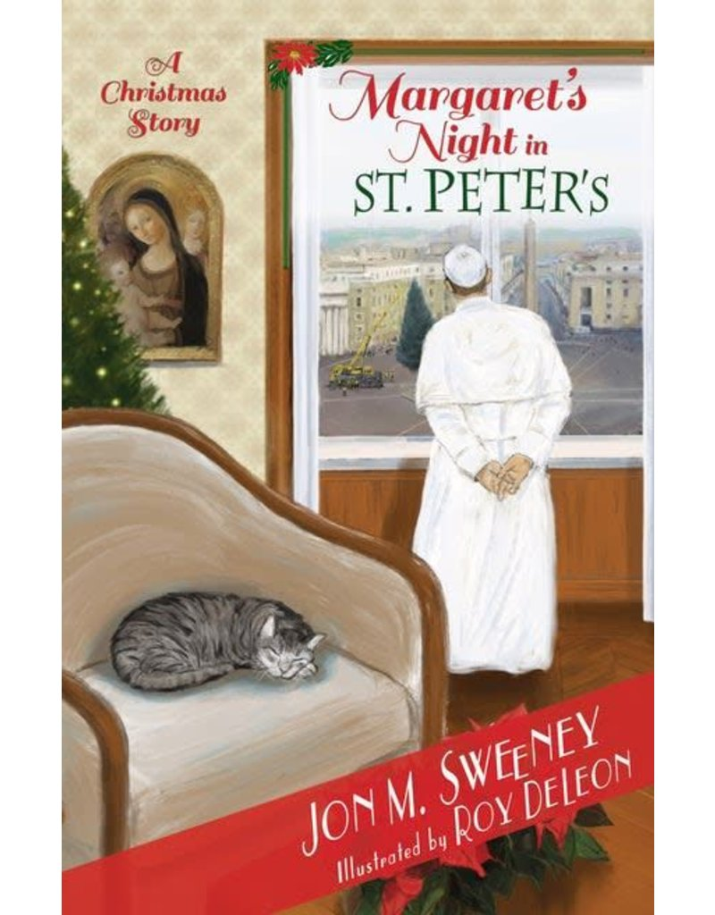 Paraclete Press Margaret's Night in St. Peter's: A Christmas Story (Book 2 of the Pope's Cat Series)