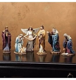 "Roman, Inc 6pc Nativity Set with 8"" Figures"