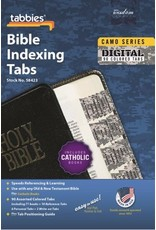 Tabbies Catholic Bible Indexing Tabs Camo Series Old and New Testament