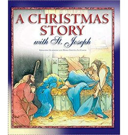 The Word Among Us Press A Christmas Story With St. Joseph Hardcover