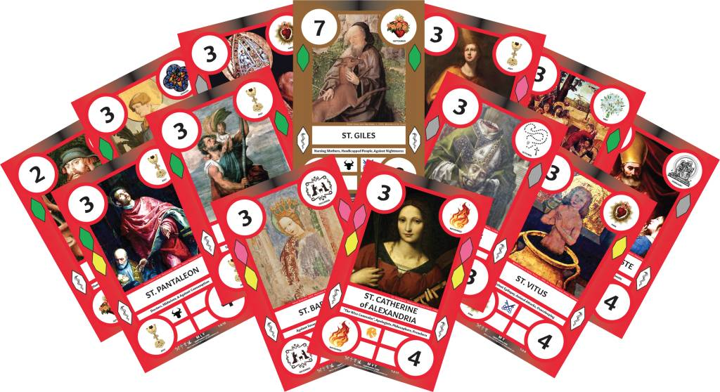 Saint Cards SaintCards: Holy Helpers Expansion (13 SaintCards)