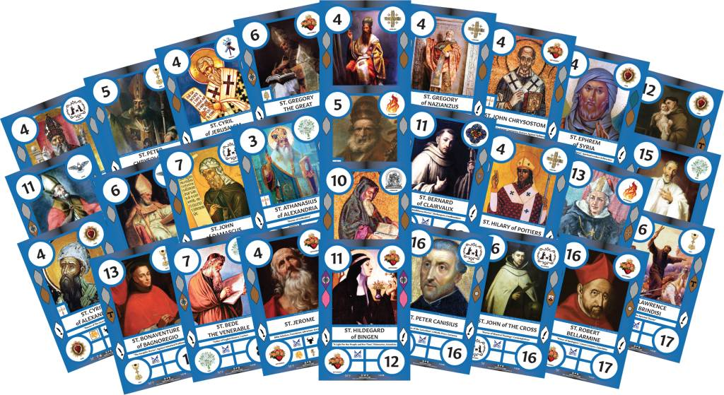 Saint Cards SaintCards: Doctors of the Church Expansion (28 SaintCards)