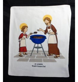 Holy Roller Saints Kitchen Towel