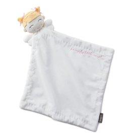 "Hallmark Girl Angel Soft Security Comfort Blanket 15.5"" W x 18"" H Portable Size"