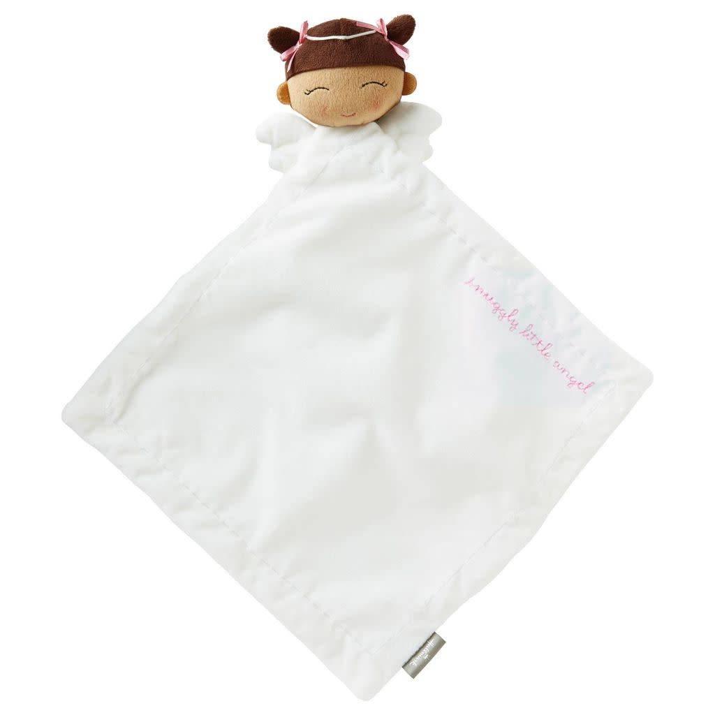 Hallmark Girl Angel Snuggle Comfort Blanket Hispanic