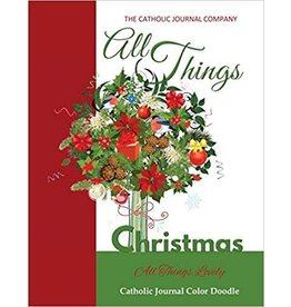 The Catholic Journal Company All things Christmas All Things Lovely Catholic Journal Color Doodle