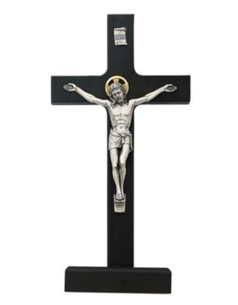 "McVan 8"" Black Walnut Standing Crucifix"