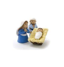 Bible Toys Tales of Glory: The Birth of Baby Jesus Bible Toys Figurines Joseph, Mary and Baby Jesus