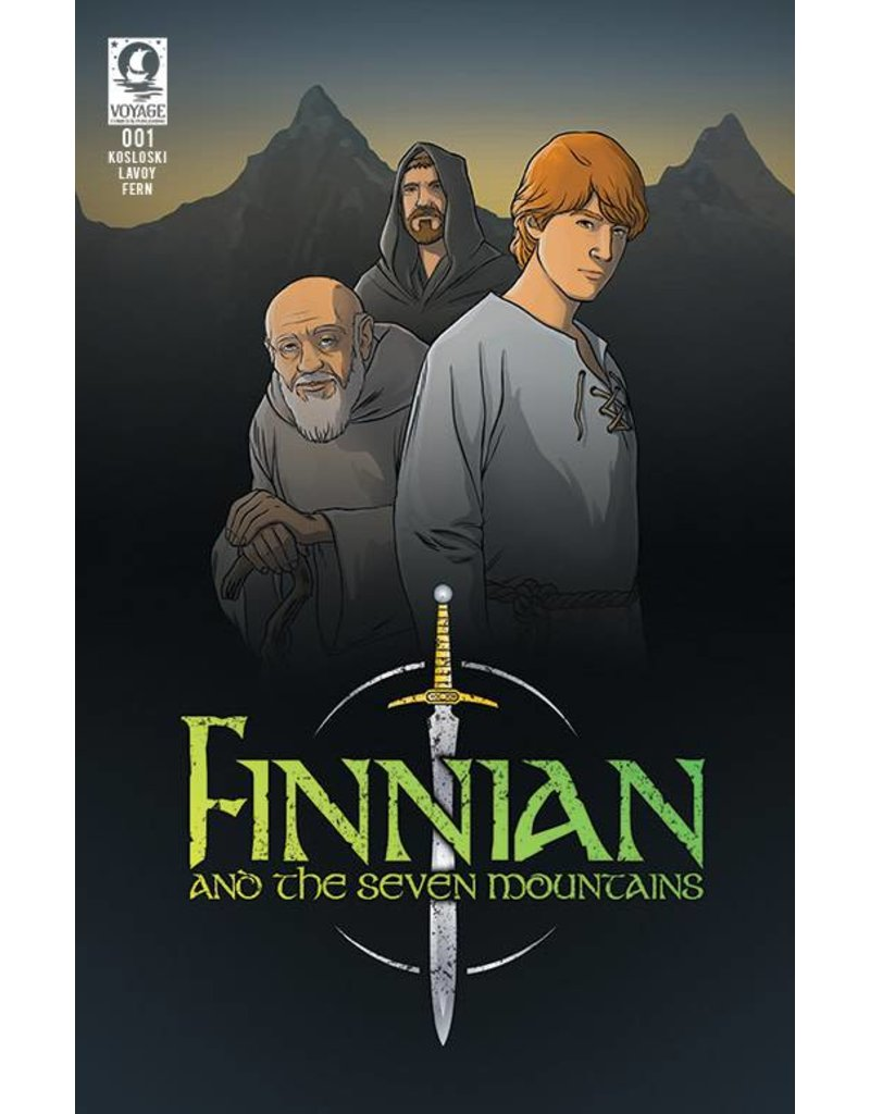 Voyage Comics Finnian and the Seven Mountains: Issue 1