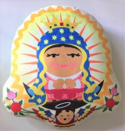 Sacred Heart Toys Our Lady Of Guadalupe Pillow
