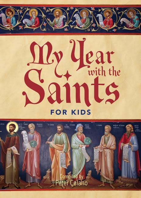Paraclete Press My Year with the Saints for Kids