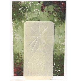 Cavanagh Oplatki Christmas Bread Wafer with Envelope (Single Wafer, Assorted Style)