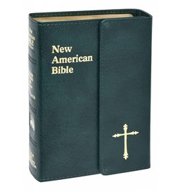 Catholic Book Publishing Corp St. Joseph Edition New American Bible (N.A.B.) Personal Gift Size With Magnetic Closure (Green)