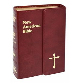 Catholic Book Publishing Corp St. Joseph Edition New American Bible (N.A.B.) Personal Gift Size With Magnetic Closure (Burgundy)