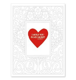 The Printery House I Hold You in My Heart Card
