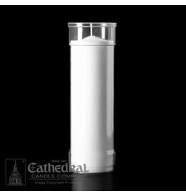 Cathedral Candle Co. 7 Day Inserta-Lite Candle (Clear Plastic, Box of 12 Candles)