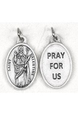 """Lumen Mundi St. Valentine Oxidized Medal 1"""""""
