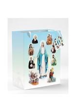 """Lumen Mundi Gift Bag of Saints 10"""" Tall"""