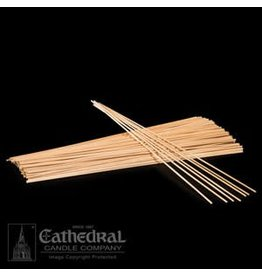 "Cathedral Candle Co. 12"" x 1/8"" Wood Candle Applicator Stick (Single Stick)"