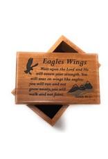 HJ Sherman Eagle Wings Keepsake Box