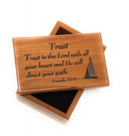 HJ Sherman Trust In the Lord Keepsake Box Proverbs 3