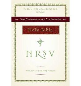 Harper Collins Catholic Gift Bible (Burgundy, NRSV Catholic)