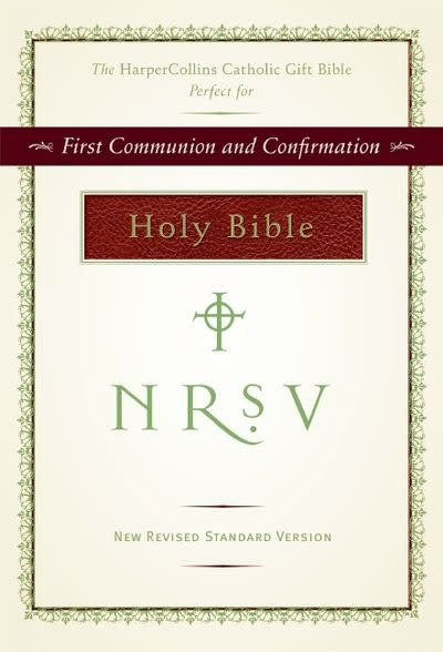 Harper Collins Catholic Gift Bible (Burgundy, NRSV Catholic)