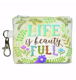 Divinity Boutique Coin Purse For Women Christian Gifts Life Is Beauty Full