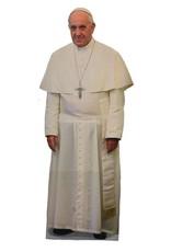 Nelson Fine Art Pope Francis Lifesize Standee