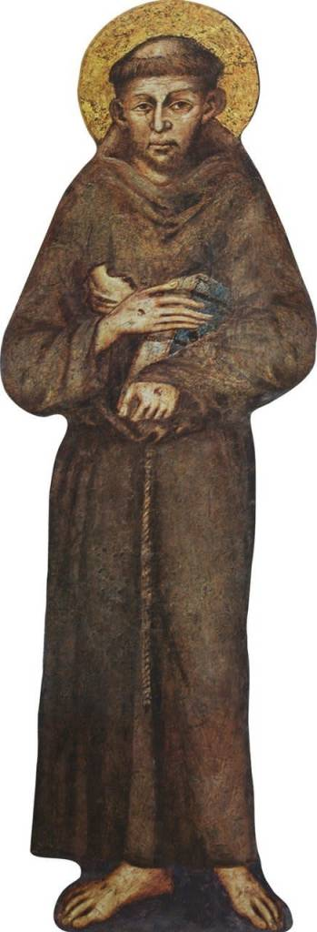 Nelson Fine Art St. Francis of Assisi Lifesize Standee