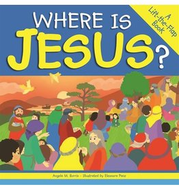 The Word Among Us Press Where is Jesus: A Lift-the-Flap Book