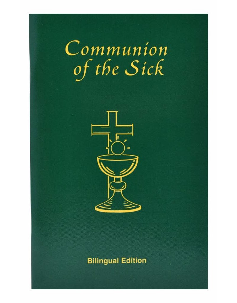 Catholic Book Publishing Corp Communion of the Sick: Bilingual Edition - Approved Rites for Use in USA Excerpted From Pastoral Care of the Sick and Dying in English and Spanish