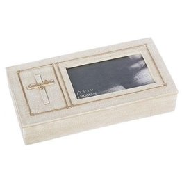Roman, Inc Keepsake Box-Confirmation w/Cross (1.75 H)