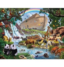 Vermont Christmas Company Jigsaw Puzzle-Noah's Ark (1000 Pieces)