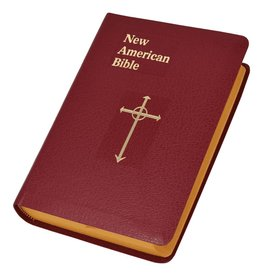 Catholic Book Publishing Corp St. Joseph Editon New American Bible (Burgandy)