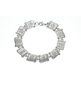 Wallace Brothers Manufacturing 10 Commandments Bracelet