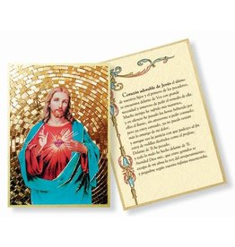 WJ Hirten Corazón adorable de Jesús Sacred Heart Mosaic Plaque