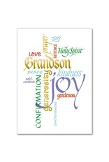 The Printery House Grandson Confirmation Greeting Card