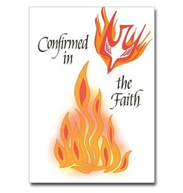 """The Printery House Confirmed in the Faith"""" Confirmation Greeting Card"""