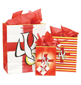 The Printery House Confirmation Gift Bag Medium Striped